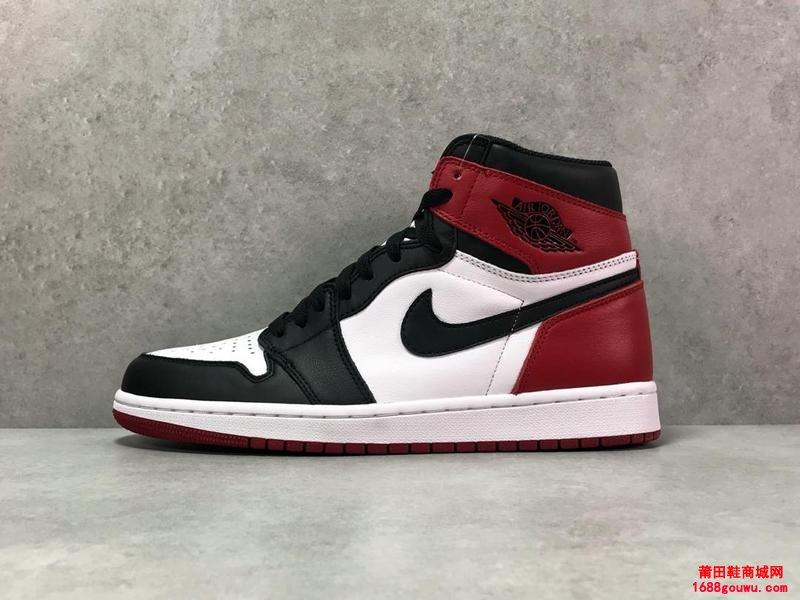 AJ1 黑白脚趾 Air Jordan 1 AJ1
